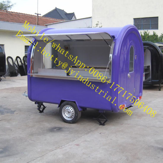 2018 Fashion Electric Breakfast Mobile Vegetable Fruit Hot Dog, French Fries, Waffle, Sandwiches Food Truck Manufacturers