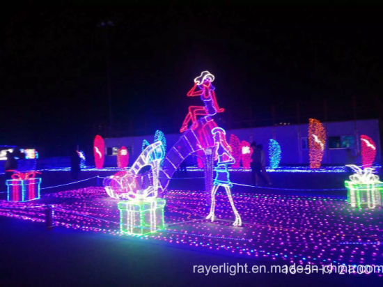Colorful Decoration Garden Decortaion Ge Christmas Lights pictures & photos