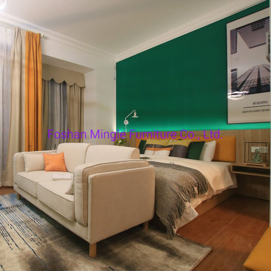 Customized Modern Resort Hotel Room Furniture for Studio Apartment
