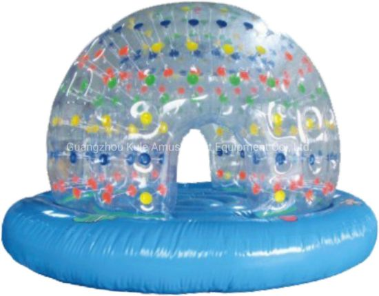 Transparent-House Water Toy Swimming Pool Inflatable Toy for Water Park pictures & photos