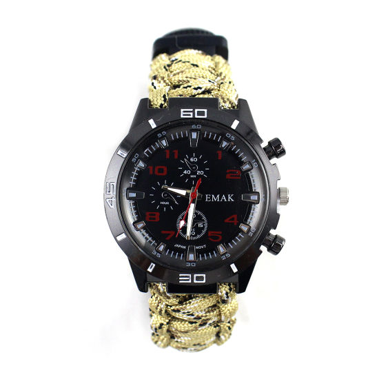Factory Price Outdoor Climbing The Wild Tactical Survival Watch