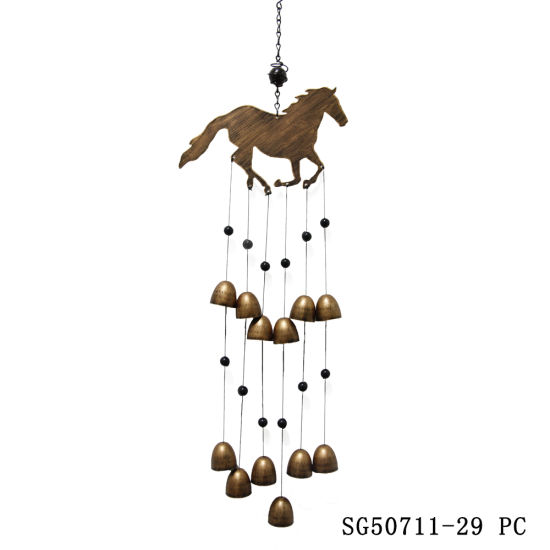 Wholesale Metal Horse Wind Chime for Home & Garden Decoration pictures & photos