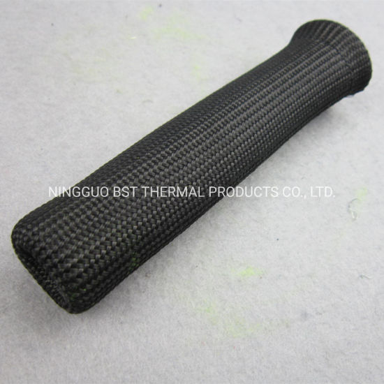 Black Fiberglass Spark Plug Wire Heat Covers