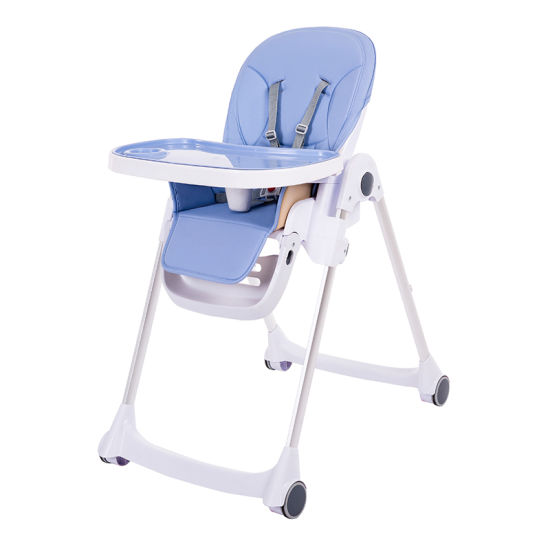 Portable Folding Multifunction Wholesale Baby Dining High Chair pictures & photos