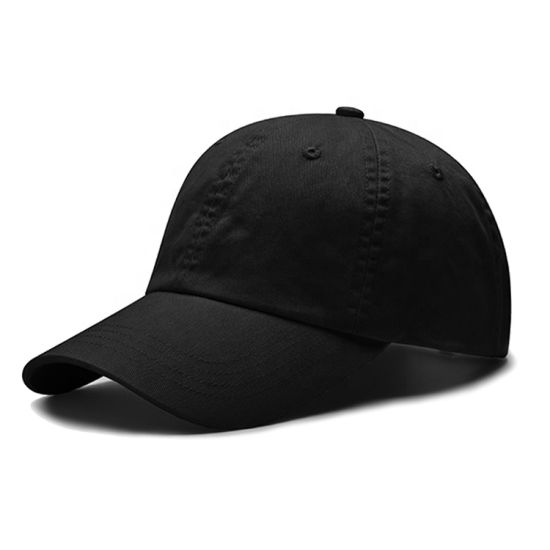 Unstuctured Basic Baseball Cap Without Print Embroidery Logo Sport Hat