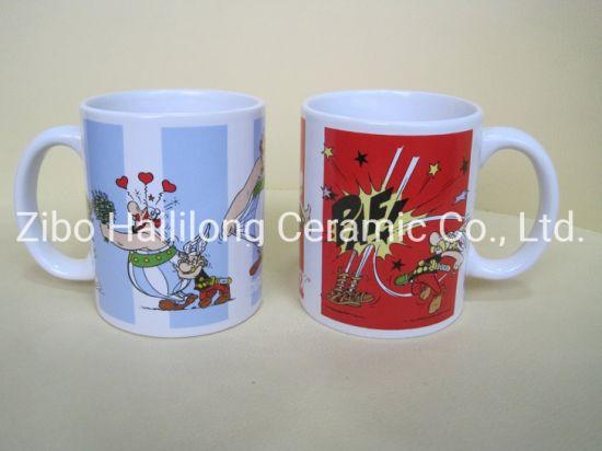 White Ceramic Mug Coffee Mug Printing Decal Pormotion Mug