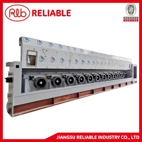 High Speed Straight Line Copper and Steel Cable or Wire Drawing Machine with Individual Motors