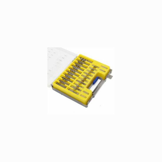 HSS Steel Drill Bit Set 150pcs Twist Drill and Case Plastic Wood Metal Kit