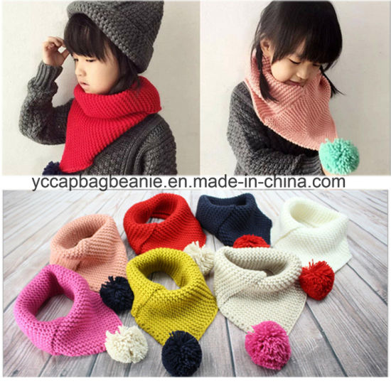 Stylish Children Knitted Warm Snood