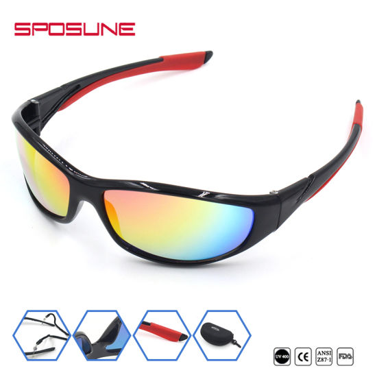 aafdf5c5735f Full-Frame Wraparound Sailing Eyewear Filter Reflected Light Sport  Sunglasses