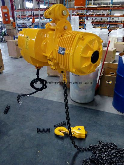 3ton Low Headroom Electric Chain Hoist Low Space Type (WBH-03002DL) pictures & photos