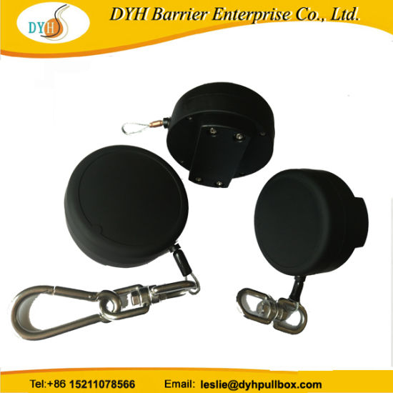 Wholesale Dyh Manufacturer Retractable Anti-Drop Steel Safety Tool Lanyards