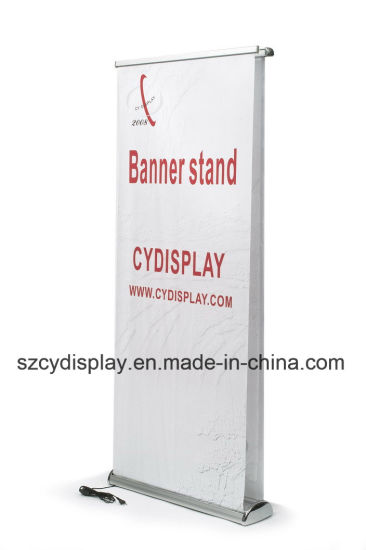 Double Sided Electric Roll up Banner Stand/Pull up Stand pictures & photos