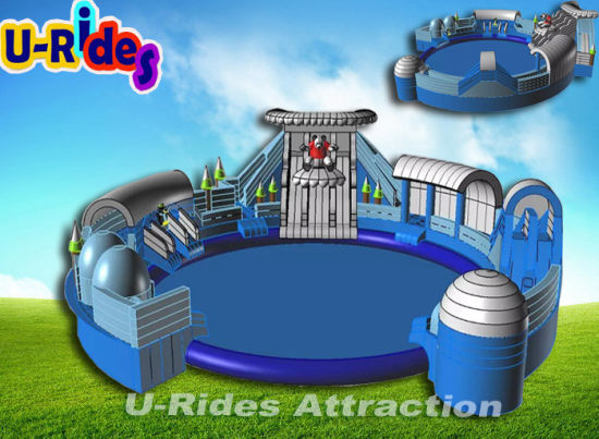 Ice and snow park Inflatable Water Park for Resort pictures & photos