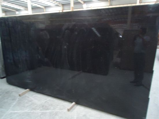Cheap Black Galaxy Granite Slab/Tile pictures & photos