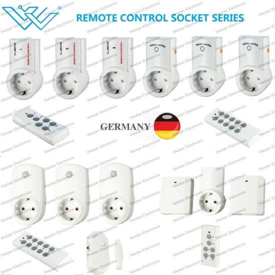 Germany Smart Plug Intelligent Remote Control Power Socket