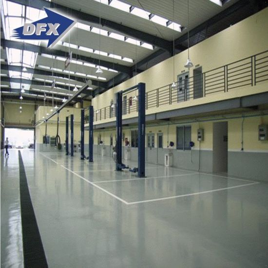 China Long Span Commercial Use Prefab Galvanized Steel Structure Car