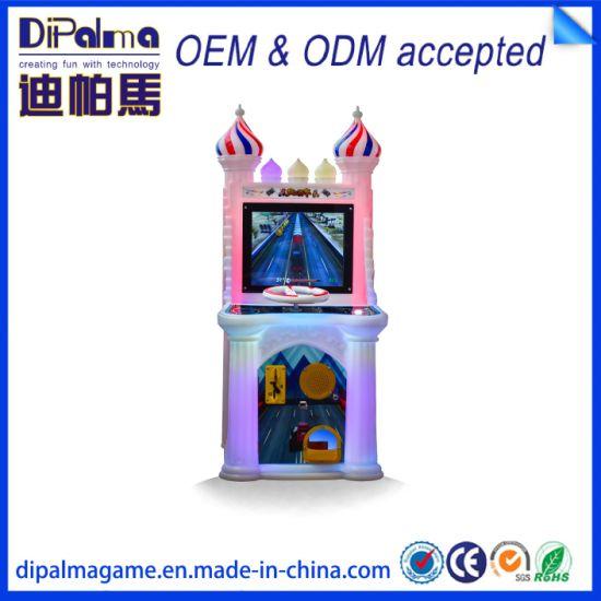 Dipalma Attractive Kids Castle Adventure Simulator Water Gun Shooting Game Machine