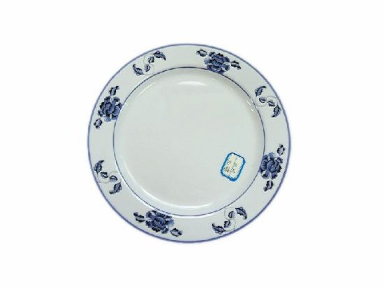 Factory Customized New Style Round Melamine Dinner Plates for Restaurant pictures & photos