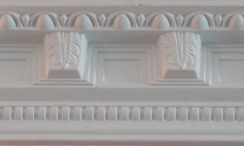 PU Ceiling Decoration Polyurethane Crown Moulding Cornice
