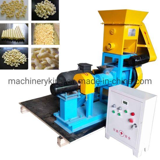 Cheese Ball Puffed Rice Snack Food Making Machine