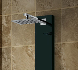 Stainless Steel Panel in Black Show Column, Shower Panel (K2202) pictures & photos