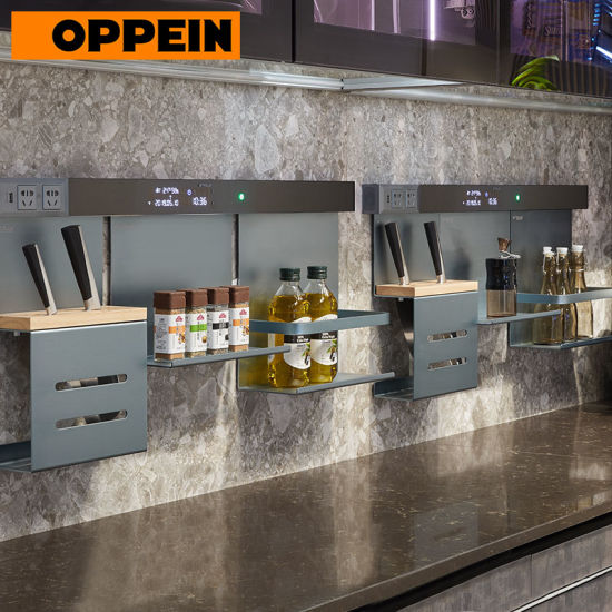 Oppein Industrial Style Modern Linear Small Overall Kitchen Cabinets China Industrial Kitchen Cabinets Modern Kitchen Cabinets Made In China Com
