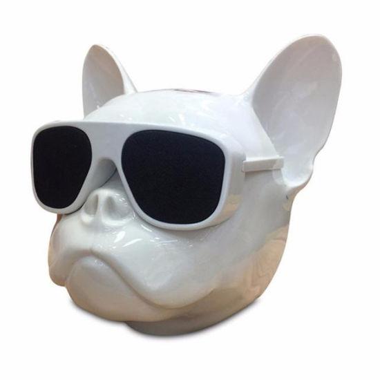 Portable Wireless Bluetooth Bulldog Speakers MP3 Player S3 Dog Soundbar  Mini Boombox