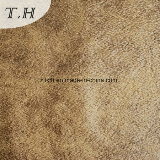 2017 Desiansuede Leather Fabric for Sofa pictures & photos