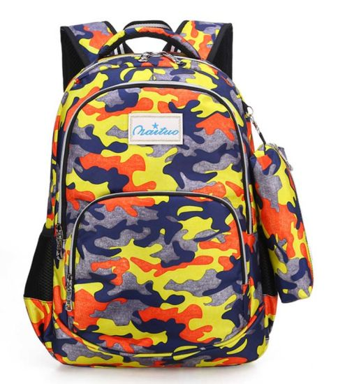Camouflage Color Leisure Wholesale Practical Backpack Bag