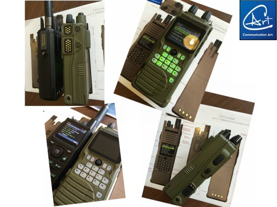 China Encrypted Low VHF Handheld Radio with AES-256
