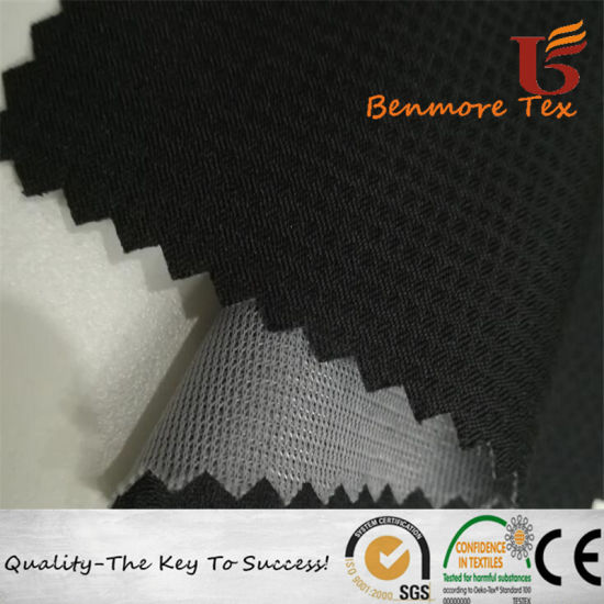 Polyester Ripstop Pongee Fabric Bonded Mesh Fabric with TPU Inside