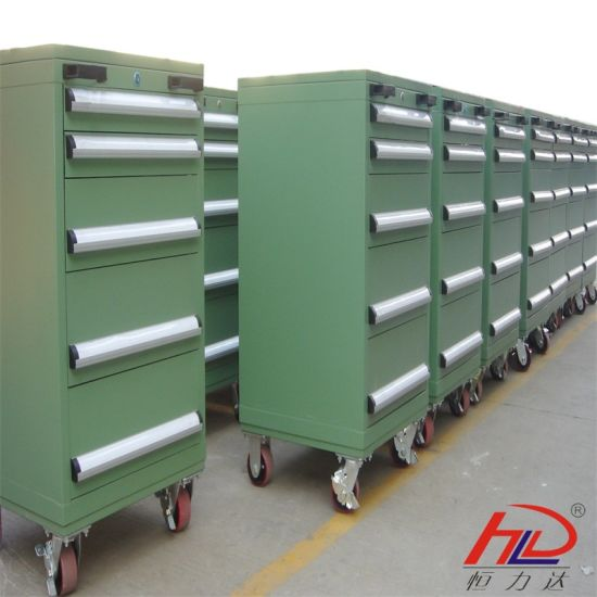 Steel Warehouse Storage Tool Trolley pictures & photos