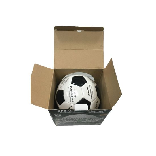 Custom Designed Corrugated Packaging and Shipping Box for Football pictures & photos