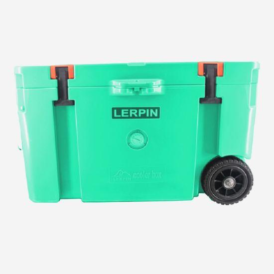 China Plastic Ice Box Cooler Wheels Picnic Retro Cooler Box China Retro Cooler Box And Rotomolded Cooler Box Price