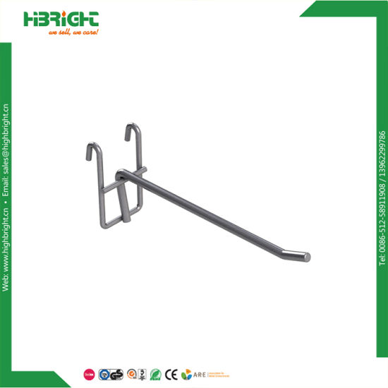 High Quality Display Supermarket Accessories Chrome Metal Hook pictures & photos