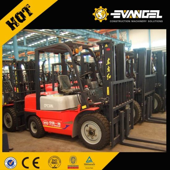 3 Ton Rough Terrain Forklift Truck Cpcd30 pictures & photos