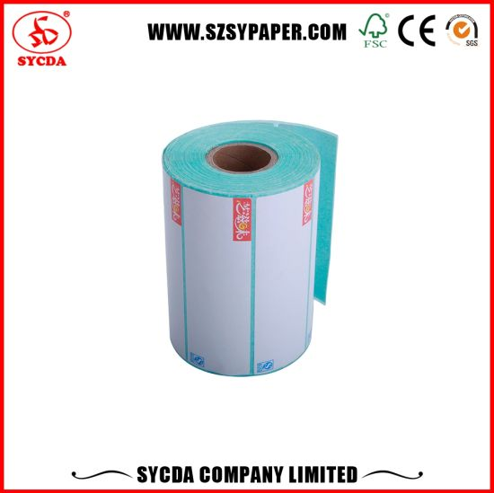 White Color Rolls Self Adhesive Label Paper