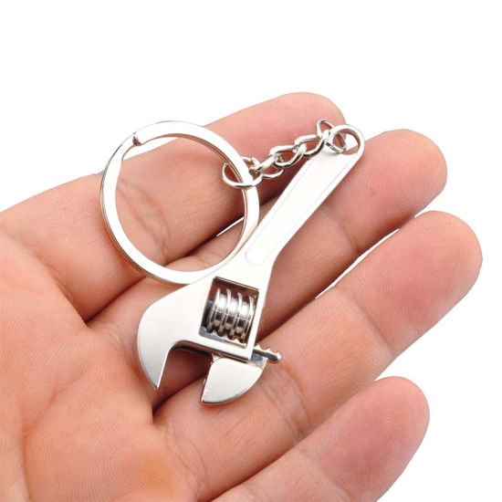 Alloy Metal Type and Alloy Metal Material Bottle Opener Keychain pictures & photos