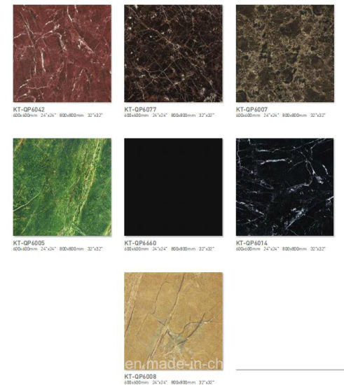 600X600mm 800X800mm Full Glazed Porcelain Polished Tiles with Cheap Price in Foshan pictures & photos