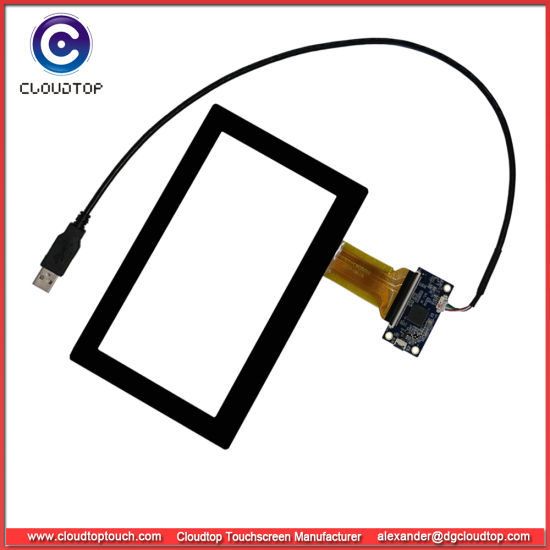China 7 Inch USB Touch Screen Projected Capacitive
