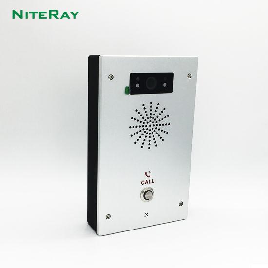 IP Intercom IP Door Phone Door Lock and Door Intercom with RFID Standalone Door Access Control Keypad