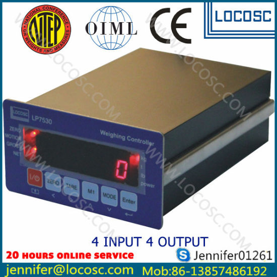 China New Design Electronic Scale Controller Indicator - China