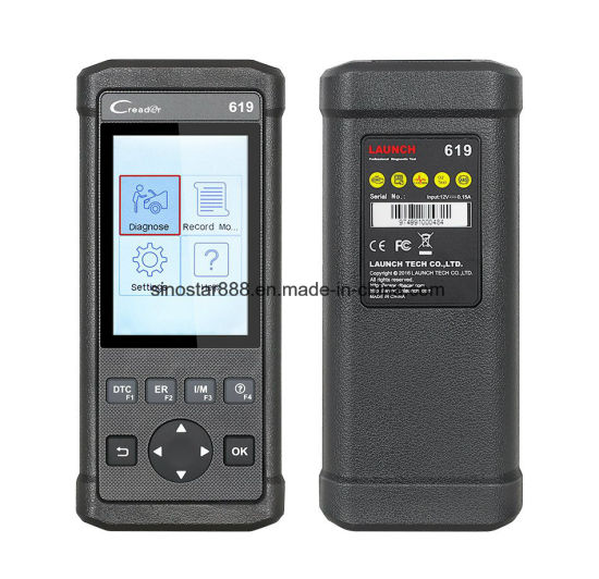 Creader 619 Code Reader Launch Diagnostic Scanner pictures & photos