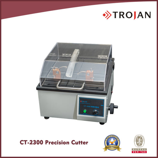 CT 2300 Precision Metallurgical Sample Cutting Machine for Cutting PCB SMT Semiconductor