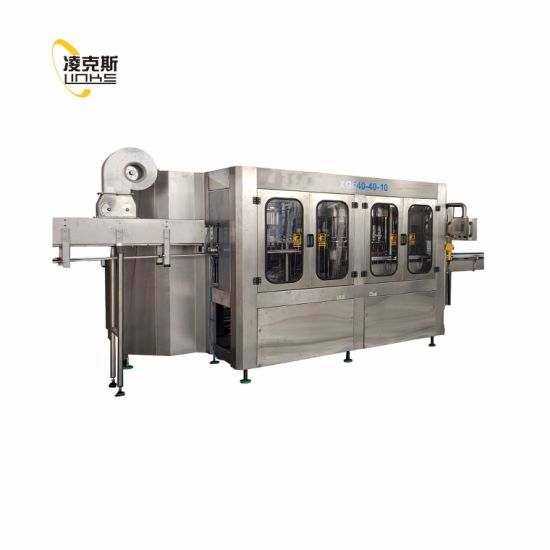 Automatic Drinking Mineral Pet Glass Bottle Bottled Water Filling Bottling Machine pictures & photos