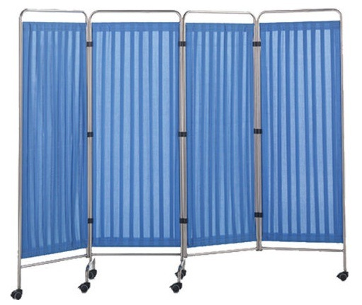 Hf-35 Hot Selling Removable Hospital Furniture with Four Stainless Steel Screen pictures & photos
