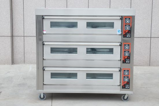 Commercial Double Layer Four Tray Electric Oven for Baking