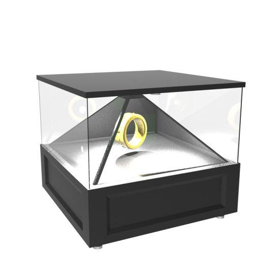 360 Degree Holographic Kiosk for Advertising Player