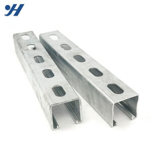 [Hot Item] Slotted Galvanized Unistrut HDG C Channel